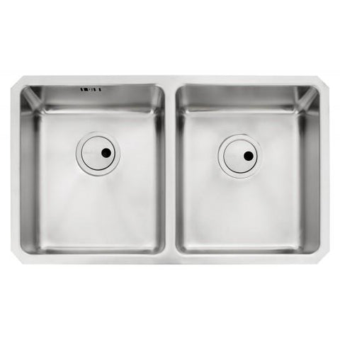 Abode Matrix R25 2.0 Bowl Sink And Waste Undermounted Sinks