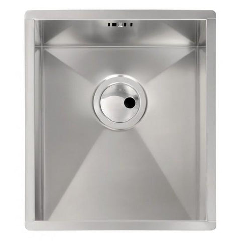 Abode Matrix Ro 1.0 Bowl Sink And Waste Undermounted Sinks