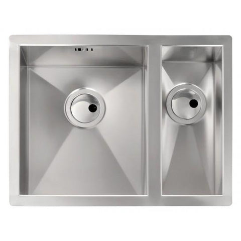 Abode Matrix 1.5 Bowl (L/r Or R/h) Sink And Waste Undermounted Sinks