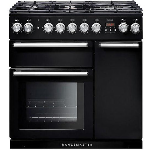 Rangemaster Nexus 90 Dual Fuel Range Cooker Cookers