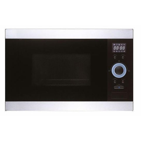 Unbranded Oubmg25Bk Built In Microwave Oven And Grill - Black With Steel Trim Microwaves