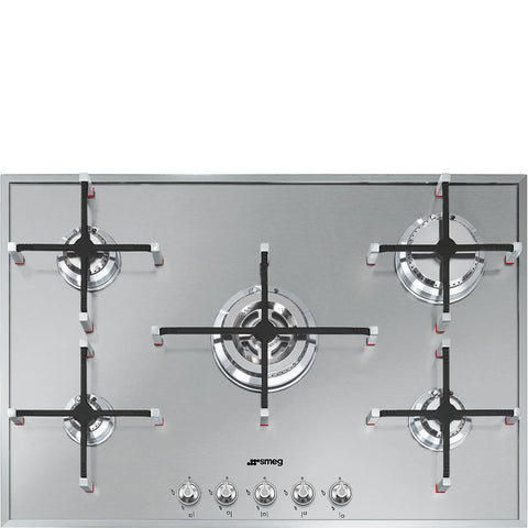 Smeg PX7502 74cm Ultra Low Profile Gas Hob