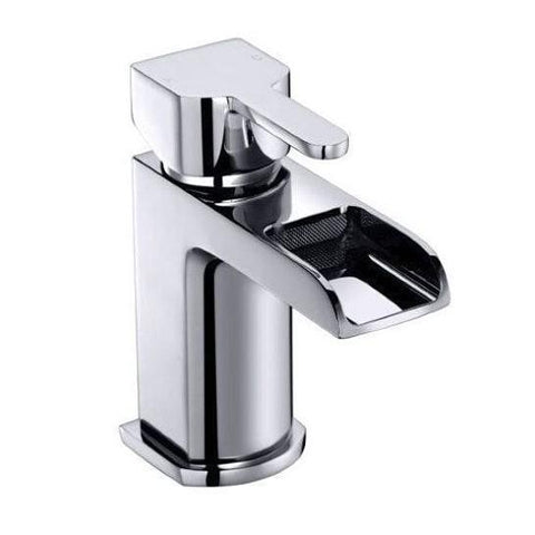 River Waterfall Basin Mixer Including Waste