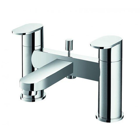Smart Deck Mounted Bath Shower Mixer With Hand Set