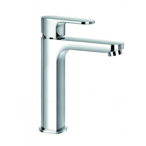 Smart Mid-Height Basin Mixer With Clicker Waste Set