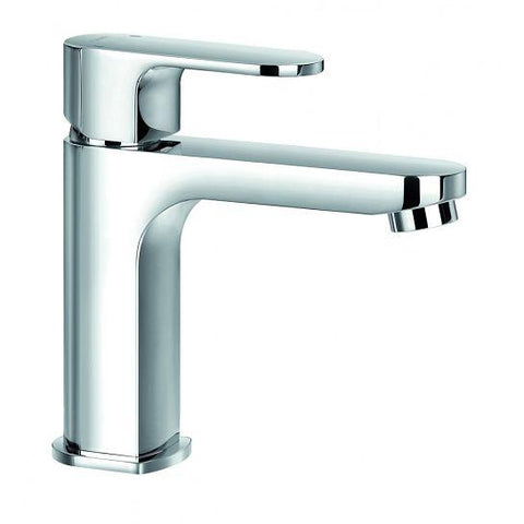 Smart Cloakroom Basin Mixer With Clicker Waste Set