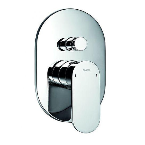 Smart Concealed Manual Shower Mixer 3-Way Diverter Surface Valves