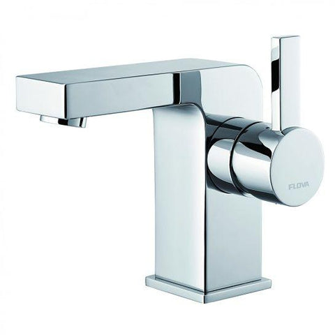Str8 Basin Mixer With Clicker Waste Set