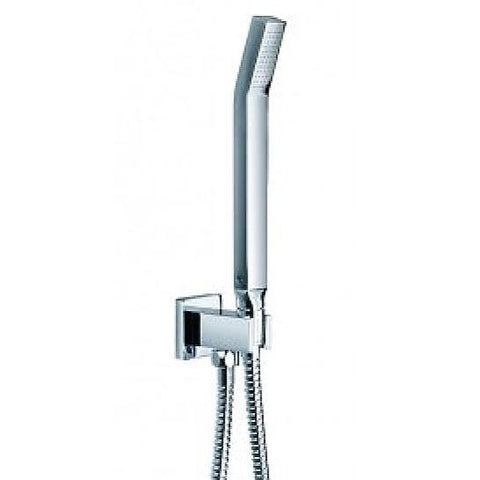Sthss Str8 Shower Set With Bracket Outlet Elbow Ki035 Hand-Shower And Ki200D Hose Heads