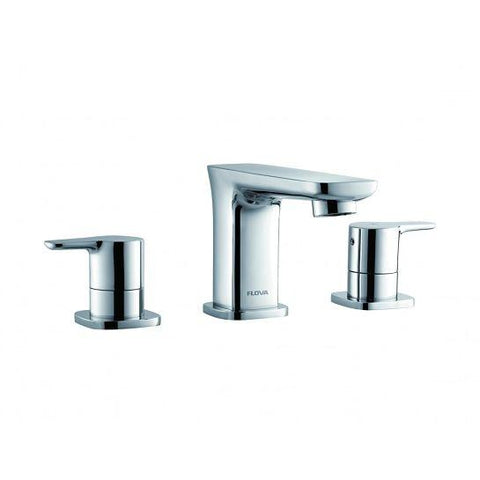 Urban 3-Hole Basin Mixer With Clicker Waste Set