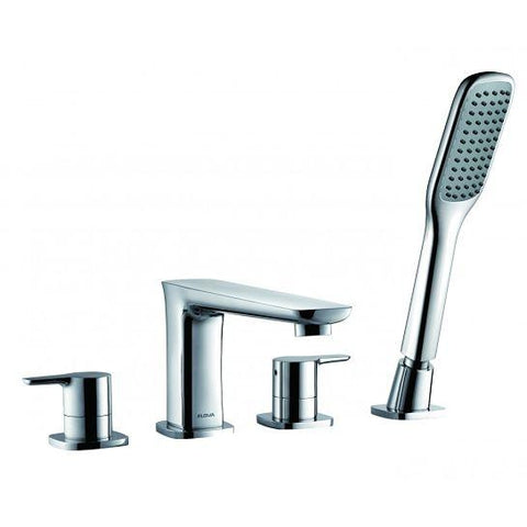 Urban 4-Hole Bath Mixer With Shower Set