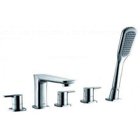 Urban 5-Hole Bath Mixer With Shower Set