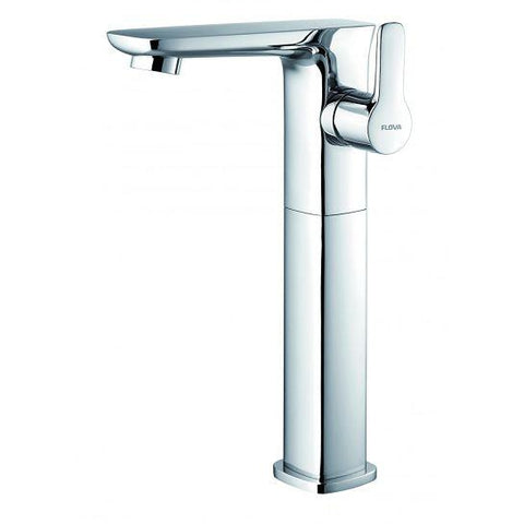 Urban Tall Basin Mixer With Clicker Waste Set