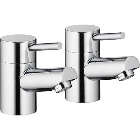 Pura Xcite Basin Pillar Taps (Pair)