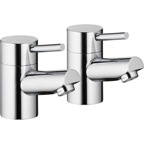 Pura Xcite Bath Pillar Taps (Pair) Bath Taps