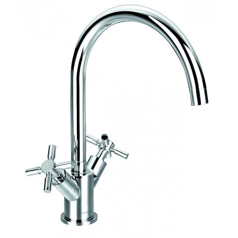 Flova Xl Two Handle Kitchen Mixer Waste Disposers & Hot Water Taps