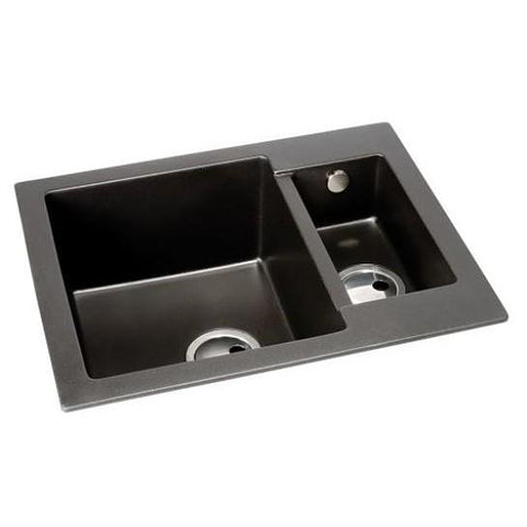 Abode Zero Composite Sink 1.5 Bowl No Drainer (Reversible) Overmounted Sinks