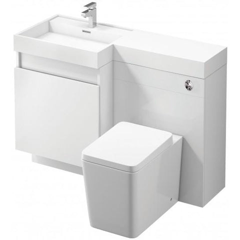 Illinois 1200Mm Vanity And Wc Unit Pack Freestanding
