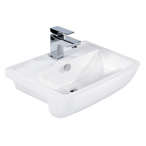 Mercury Semi-Recessed Basin