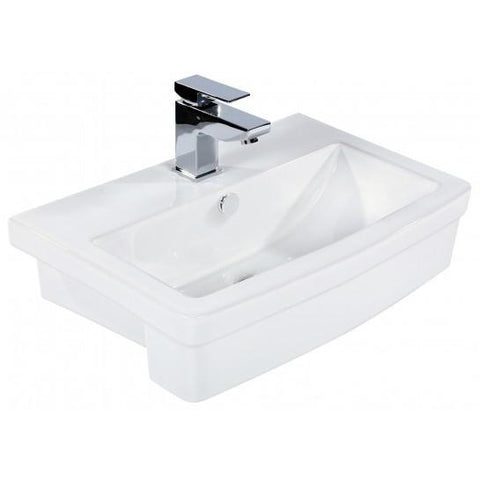 Sun Semi Recessed Basin