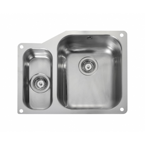 Rangemaster Atlantic Classic Ub3515 1.5 Bowl Sink Undermounted Sinks
