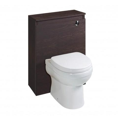 Austin Dark Oak Wc Unit (Toilet Not Included) Freestanding