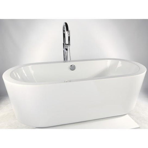 Nebraska Freestanding Acrylic Bath Including Waste