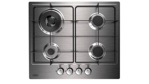 Belling 60cm Gas Hob with Enamel Pan Supports (GHU602GC)