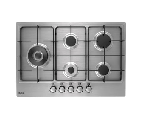 Belling 75cm Gas Hob with Enamel Pan Supports (GHU75GC)