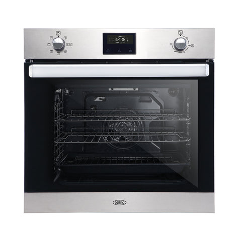 Belling 60cm Built-in Electric Fan Oven with Programmable Timer (B1602FP)