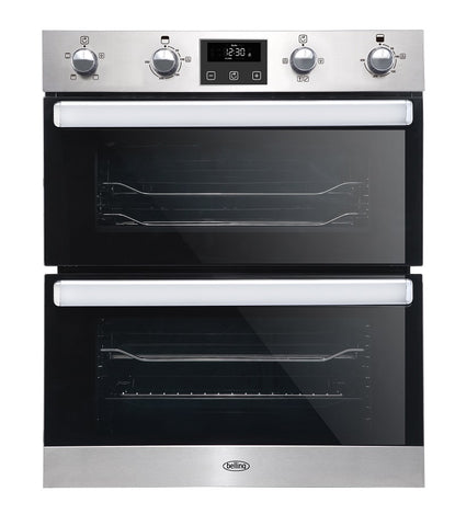 Belling 70cm Stainless Steel Built Under Electric Oven with Programmable Timer (B1702FP)