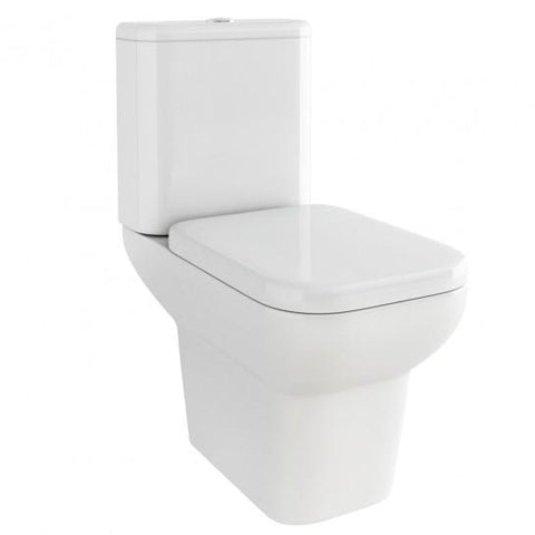 Urban Close-Coupled Toilet With Soft Close Seat Coupled