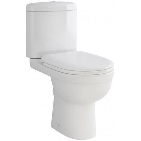 Ivo Compact Close-Coupled Toilet With Soft Close Or Standard Seat Coupled