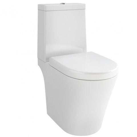 Arco Open-Back Close-Coupled Toilet With Puraplast Soft Close Seat Coupled