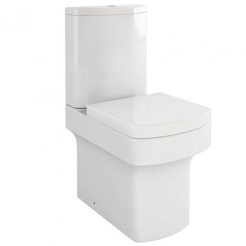 Dekka Close-Coupled Toilet With Puraplast Soft Close Seat Coupled