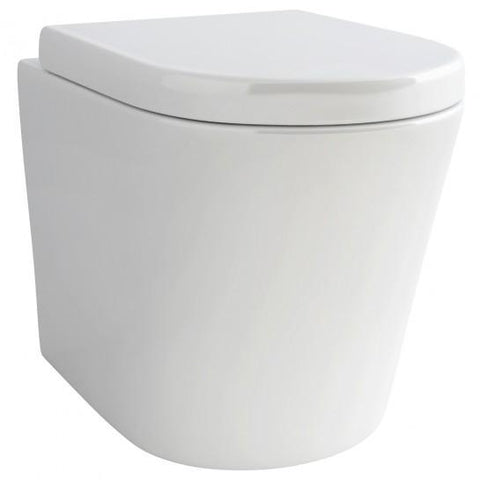 Arco Back-To-Wall Wc Bowl And Seat Back To The Wall