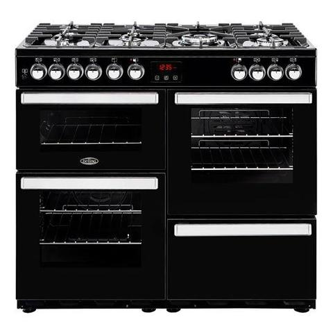 Belling Cookcentre 100Dft Dual Fuel Range Cooker Cookers