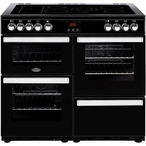 Belling Cookcentre 100E Ceramic Range Cooker Cookers