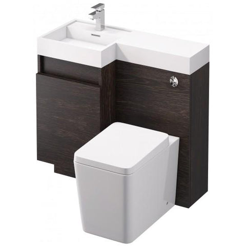 Iowa 900Mm Vanity And Wc Unit Freestanding