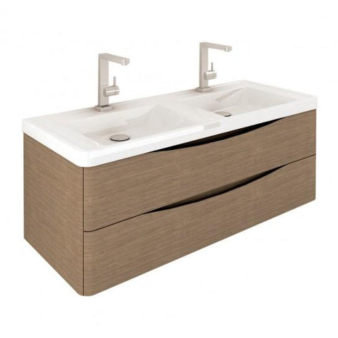 Kentucky 1200 Wall Mounted Vanity Unit Hung