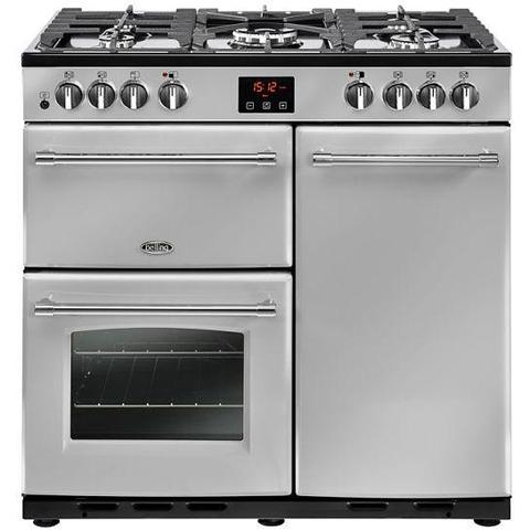 Belling Farmhouse 90 Dual Fuel Range Cooker Cookers