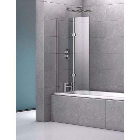 Geneva 800Mm Double Frameless Bath Screen Screens