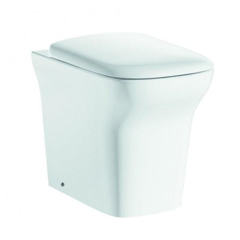 Grace Comfort Height Back-To-Wall Toilet With Soft Close Seat Back To The Wall