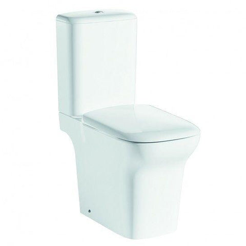 Grace Comfort Height Rimless Open Back Close Coupled Toilet