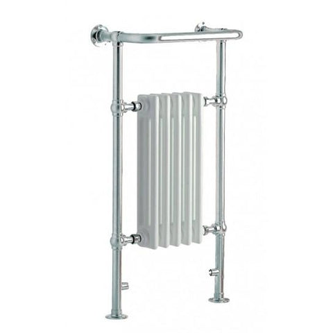 Hilton 938Mm X 500Mm Heated Towel Rail Traditional Rails & Rads