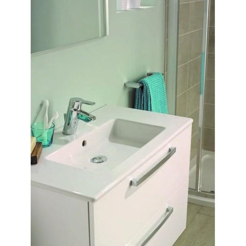 Tempo Wall-Mounted Vanity Basin Unit 600Mm (Including Leg Set) Wall Hung