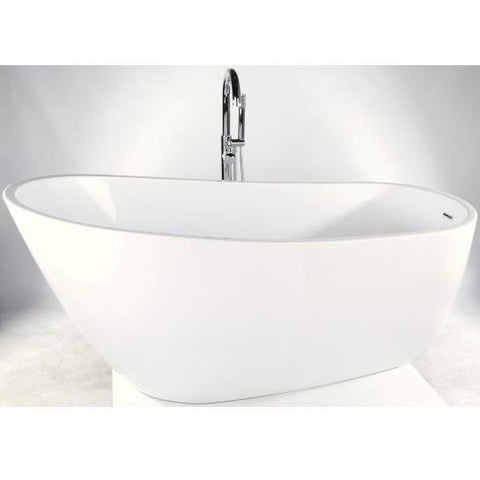 Idaho Freestanding Acrylic Bath Including Waste