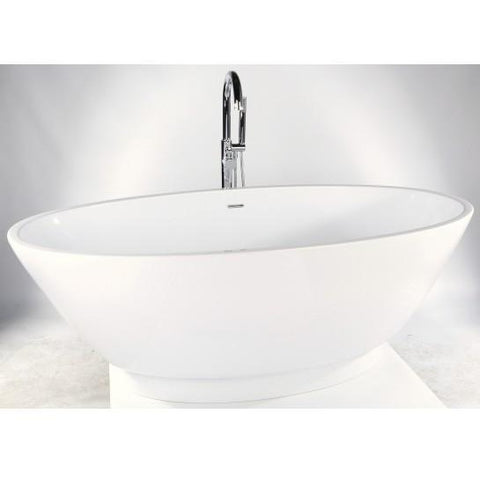 Kansas Freestanding Acrylic Bath Including Waste 1700Mm X 790Mm