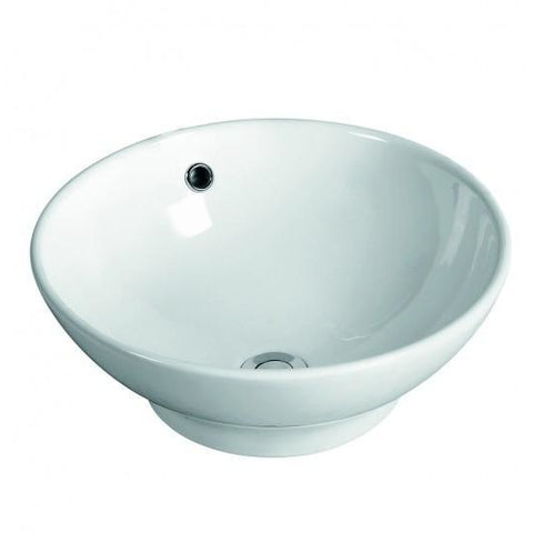 Cresto 410Mm Vessel Basin Without Tap Hole