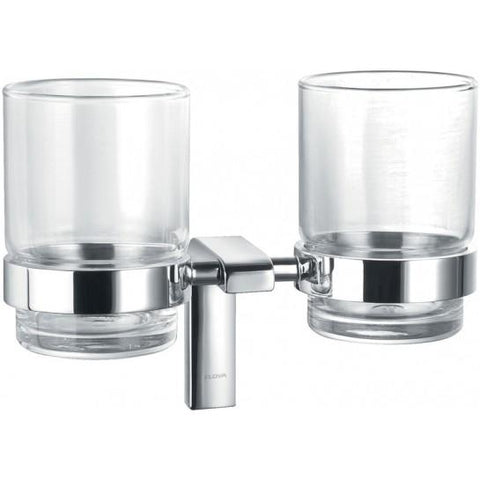 Lynn Double Glass Tumbler Holder